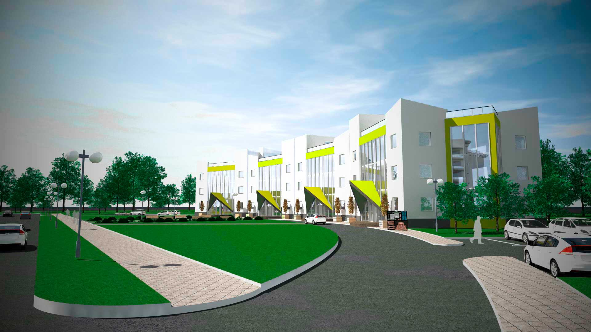 Проектирование<br>медицинских учреждений