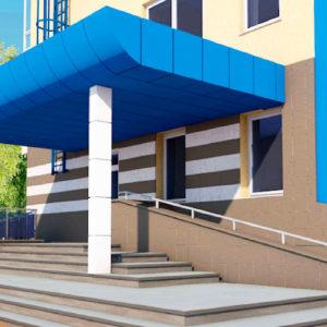проектирование медицинского учреждения