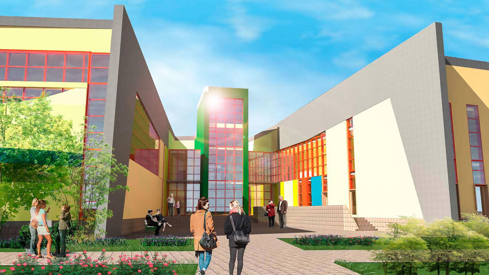 Проектирование<br>образовательных учреждений